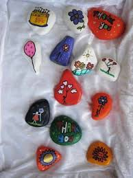 how to paint beautiful rock painting step by step diy tutorial instructions