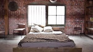 Stunning Industrial Bedroom Design Photo Inspiration
