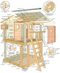 playhouse plans backyard woodarchivist business plan diy nz hobbit hole 8x8 free wooden kits for