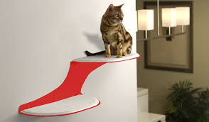 cat clouds cat shelves from the refined feline » gadget flow