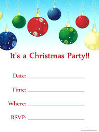 Free Holiday Party Templates Free Holiday Invitation Templates Word Microsoft Label