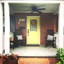 door colors for red brick houses best color for front door red brick house bright yellow