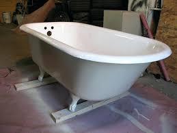 refinished cast iron tub cast iron tub refinished refinish cast iron tub houston refinished cast iron tub bathtubs