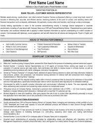 Resume For Bank Teller Job Bank Teller Sample Cover Letter Resume