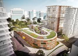 2 of 6 grimshaw s new plans for high rise school complex on sydney s outskirts