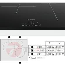 Đánh giá bếp từ Bosch PUJ631BB2E Serie 4 ba vùng nấu