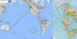 Flat Earth Flight Patterns Delectable Commercial Air Flights On A Flat Earth Work Perfectly Aplanetruth