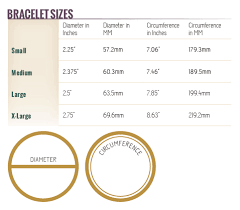 Bangle Bracelet Size Chart Best Picture Of Chart Anyimage Org