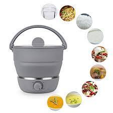 1L Foldable electric hot pot cooker, Multifunctional ... - Amazon.com