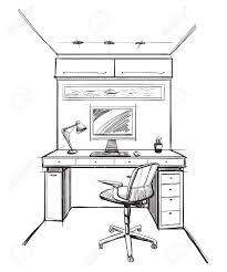 Dessin Bureau 100 Images Bureau Table A Dessin Nelemarien Dessin De Bureau L