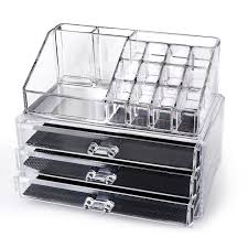 jewelry and makeup organizer mycosmeticorganizer acrylic cosmetic makeup organizer free home it acrylic makeup organizer via