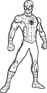 Free printable spectacular superhero spiderman coloring page for kids of all ages. Spiderman Pictures To Print Spiderman Coloring Pages Online Spider Man Homecoming C Superhero Coloring Superhero Coloring Pages Kids Printable Coloring Pages