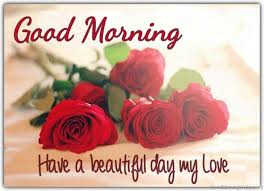 good morning have a beautiful day my love