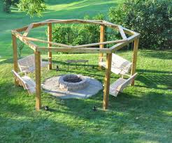 Fire Pit Swing Simple Diy Porch Swing Fire Pit Pit Square Tile With Cover Bronze