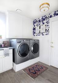 park home reno diy laundry pedestal