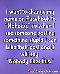 Funny Facebook Quotes Mesmerizing Facebook Cool Funny Quotes