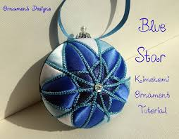 Blue Star No Sew Fabric Christmas Ornament Tutorial | I'm ALWAYS ... & Blue Star No Sew Fabric Christmas Ornament Tutorial Adamdwight.com