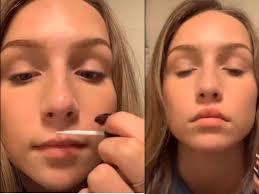 tik tok lip challenge glue tik tok