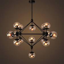 glass ball lighting. LightInTheBox Vintage Chandeliers 15 Lights/Glass Ball Lights/ Retro Pendent Lights Lighting Fixture For Glass