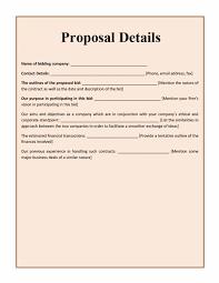 Sample Bid Proposal Template 032 Bpt Template Ideas Contractor Proposal Astounding Pdf