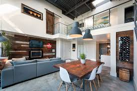 reclaimed industrial lighting. View In Gallery Fabulous Dining Room With Industrial Lighting Reclaimed A