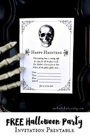 Party Invitation Images Free Free Printable Halloween Invitations For Your Spooky Soiree
