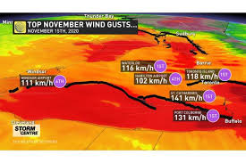 Your favorite forecast is now on alexa. Photos Intense Winds Shake Ground Send Debris Flying In Ontario The Weather Network