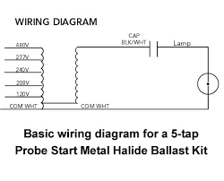 1000 watt metal halide ballast kit m47 probe start replacement 480v Metal Halide Ballast Wiring Diagram 1000 watt metal halide ballast kit metal halide ballast wiring diagram 70w