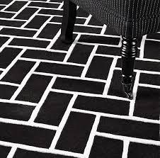 rug 250 x 300. trianon black/ white 250 x 300. trianon monochrome large rug 300