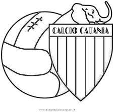 Disegno Catania Categoria Sport Da Colorare