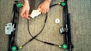 audi a s vw golf mk cabriolet window regulator repair works audi a4 s4 vw golf mk4 cabriolet window regulator repair works