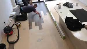 Kitchen Diner Flooring Part 1 Karndean Opus Being Fitted To Kitchen Diner Area Youtube