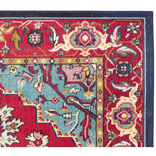 improved turquoise and red rug area throughout roselawnlutheran remodel rugs
