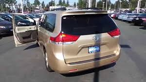 2012 Toyota Sienna, Gold - STOCK# 13732P - Walk around - YouTube