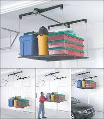 Lift Overhead Garage Storage - Car Guy Garage
