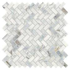stone decor fog 11 in x 12 in x 10 mm marble mosaic tile