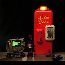 Nuka Cola Vending Machine Custom WANT Fallout Nuka Cola Machine Mini Refrigerator