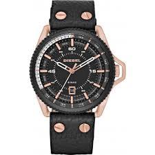 dz1754 roll cage diesel mens watch watches2u diesel dz1754 mens roll cage black leather strap watch