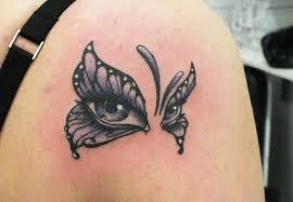 Tetování Motýl S Očima Tetování Tattoo