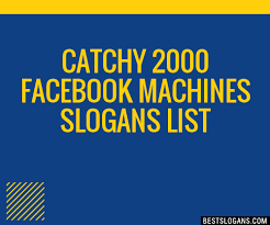 Catchy Vending Machine Slogans Stunning 48 Catchy 48 Facebook Machines Slogans List Taglines Phrases