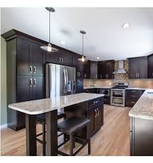 Dark Shaker Kitchen Cabinets Shaker Kitchen Cabinets With Simple Yet Stylish Design
