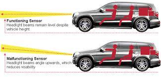 headlight level sensors techsmart parts head light diagram 2