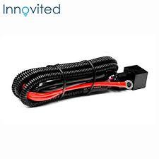 amazon com innovited universal relay wiring harness for all hid amazon com innovited universal relay wiring harness for all hid single kit h1 h3 h4 h7 h8 h9 h10 h11 h13 9004 9005 9006 9007 5202 880