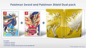 Amazon.com: Pokemon Sword and Shield Dual Edition (Nintendo Switch) : Video  Games