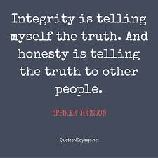 Quotes About Integrity New Honesty Quotes And Sayings Quotes About Integrity