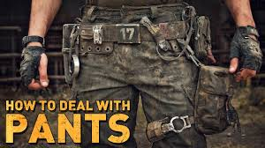 PANTS for post-apocalyptic costumes - YouTube