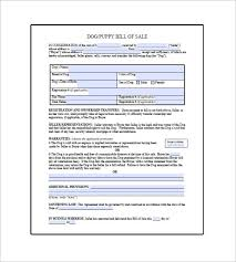 Dog Receipt Puppy Receipt Template Dog Bill Of Sale Template 13 Free Word Excel