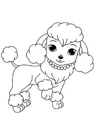 Tranh tô màu những chú chó đeo vòng « in hình này