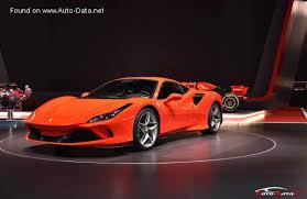 2019 Ferrari F8 Tributo 3 9 V8 720 Hp Automatic Technical Specs Data Fuel Consumption Dimensions