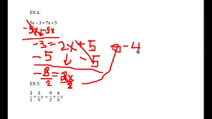 solving two sided equations example